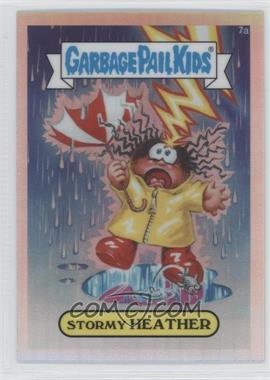 2013 Topps Garbage Pail Kids Chrome - [Base] - Refractor #7a - Stormy Heather