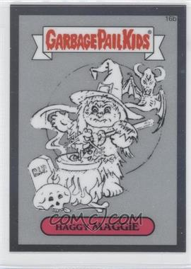 2013 Topps Garbage Pail Kids Chrome - Pencil Art Concept Sketches #16b - Haggy Maggie