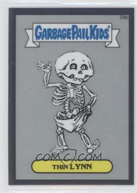 2013 Topps Garbage Pail Kids Chrome - Pencil Art Concept Sketches #29b - Thin Lynn
