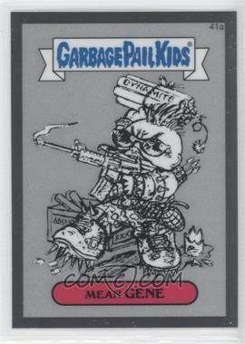 2013 Topps Garbage Pail Kids Chrome - Pencil Art Concept Sketches #41a - Mean Gene