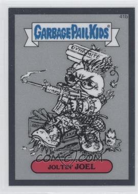 2013 Topps Garbage Pail Kids Chrome - Pencil Art Concept Sketches #41b - Joltin' Joel