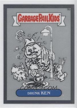 2013 Topps Garbage Pail Kids Chrome - Pencil Art Concept Sketches #9b - Drunk Ken
