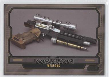 2013 Topps Star Wars Galactic Files Series 2 - [Base] - Gold #594 - S-5 Blaster Rifle /10