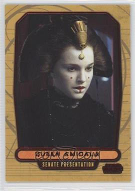 2013 Topps Star Wars Galactic Files Series 2 - [Base] - Red #385 - Queen Amidala /35