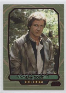 2013 Topps Star Wars Galactic Files Series 2 - [Base] - Red #511 - Han Solo /35