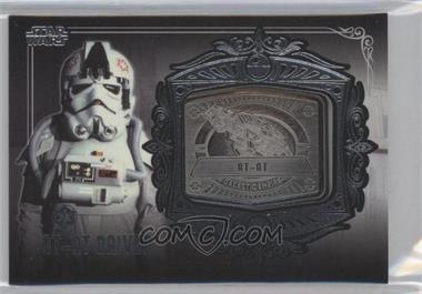 2013 Topps Star Wars Galactic Files Series 2 - Medallion Relics #MD-11 - AT-AT Driver (AT-AT)