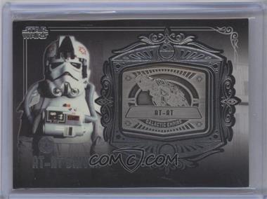 2013 Topps Star Wars Galactic Files Series 2 - Medallion Relics #MD-11 - AT-AT Driver (AT-AT)