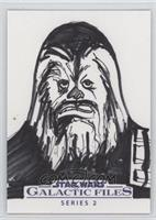 Jason Hughes (Chewbacca) #/1