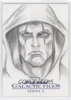 2013 Topps Star Wars Galactic Files Series 2 - Sketch Cards #SOUC - Steve Oatney (Unknown Character) /1