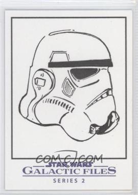 2013 Topps Star Wars Galactic Files Series 2 - Sketch Cards #UAST - Unknown Artist (Stormtrooper) /1