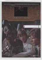 Chewbacca, Luke Skywalker, Han Solo