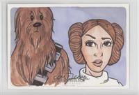 Kimberly Dunaway (Princess Leia Organa, Chewbacca) /1