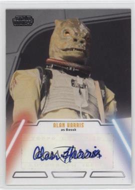 2013 Topps Star Wars Jedi Legacy - Autographs #ALHA - Alan Harris as Bossk