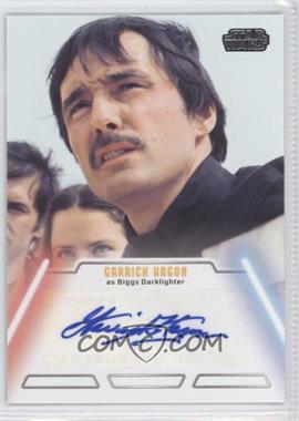 2013 Topps Star Wars Jedi Legacy - Autographs #GAHA - Garrick Hagon as Biggs Darklighter