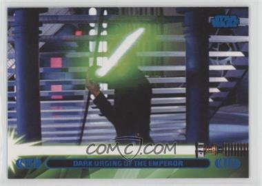 2013 Topps Star Wars Jedi Legacy - [Base] - Blue #42L - Dark Urging of the Emperor (Luke Skywalker)