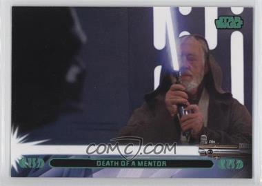 2013 Topps Star Wars Jedi Legacy - [Base] - Green #12L - Death of a Mentor (Luke Skywalker)