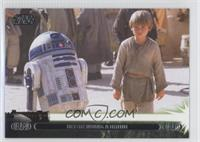 Befriending a Droid (Anakin Skywalker)