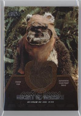 2013 Topps Star Wars Jedi Legacy - Ewok Fur Relics #ER-1 - Wicket W. Warrick