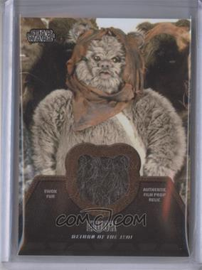 2013 Topps Star Wars Jedi Legacy - Ewok Fur Relics #ER-6 - Ewok