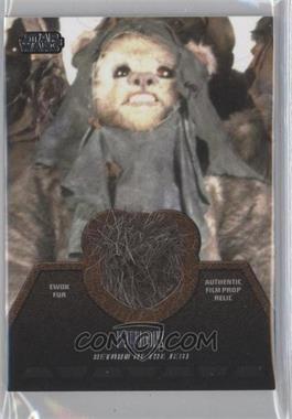 2013 Topps Star Wars Jedi Legacy - Ewok Fur Relics #ER-7 - Ewok