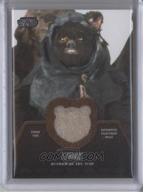 2013 Topps Star Wars Jedi Legacy - Ewok Fur Relics #ER-8 - Ewok