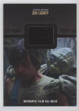 2013 Topps Star Wars Jedi Legacy - Film Cel Relics #FR-13 - Luke Skywalker, Yoda