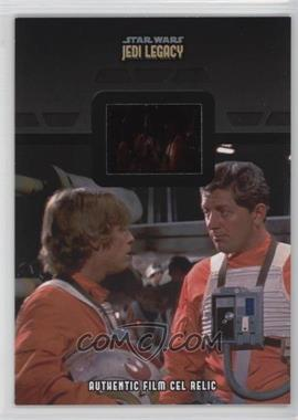 2013 Topps Star Wars Jedi Legacy - Film Cell Relics #FR-8 - Luke Skywalker, Biggs Darklighter, Garvin Dreis