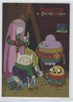 Holiday Sweaters (Princess Bubblegum, Finn, Lumpy Space Princess, Jake)