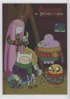 Holiday Sweaters (Princess Bubblegum, Finn, Lumpy Space Princess, Jake)