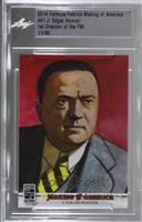 J. Edgar Hoover /30 [Uncirculated]