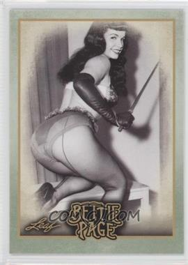 """2014 Leaf Bettie Page - [Base] #BP45 - In 2005, the film """"The Notorious Bettie Page""""..."""
