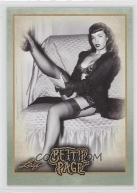 """2014 Leaf Bettie Page - [Base] #BP46 - In 2012, """"Bettie Page Reveals All"""" was..."""
