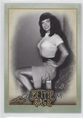 2014 Leaf Bettie Page - [Base] #BP6 - Bettie spent time traveling...