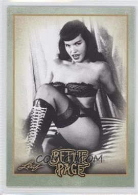 2014 Leaf Bettie Page - [Base] #BP7 - In 1947 Bettie was living in...