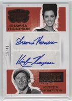 Keifer Thompson, Shawna Thompson /49