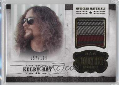 2014 Panini Country Music - Musician Materials - Gold #M-KR - Kelby Ray /199