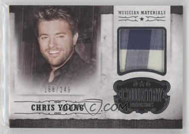 Silver Country Musician Young 2014 Materials 249 Panini - Chris m-cy Music
