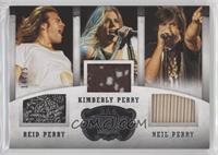 Reid Perry, Kimberly Perry, Neil Perry #/25