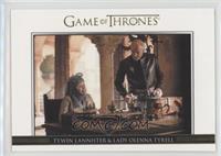 Tywin Lannister & Lady Olenna Tyrell /300