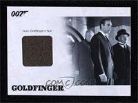Goldfinger - Auric Goldfinger's Suit #/275