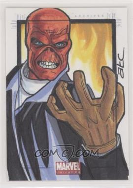 2014 Rittenhouse Marvel Universe - SketchaFEX Sketch Cards #ADCL - Adam Cleveland (Red Skull) /1