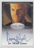 Malcolm McDowell as Dr. Tolian Soran