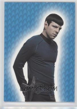 2014 Rittenhouse Star Trek Movies (Reboots) - Into Darkness Foldouts #F2 - Zachary Quinto as Spock