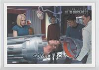 Bones places Kirk inside...