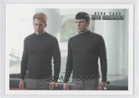 Kirk and Spock inform Admiral Marcus…