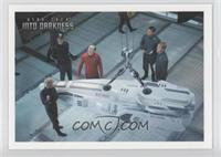 Aboard the Enterprise, Scotty refuses...