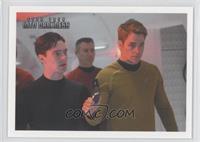 Kirk tells Scotty...
