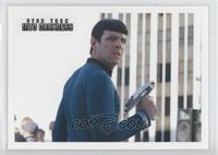Spock Orders Sulu to Search...