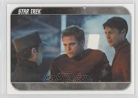 McCoy takes Kirk...