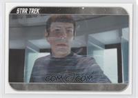 Spock beams back...